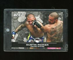 2013 Topps Ufc Bloodlines Dustin Poirier 1/1 One Of One Rookie   Conor Trilogy