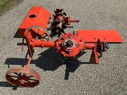 Gravely Cultivator And Rotary Plow - Fits 2 Wheel Walk Behind Tractor Nice