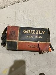 Nos Grizzly Full Moulding Brake Lining Full-moulded 8 Pieces 295d