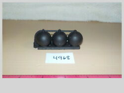O Scale Large Long Round Stip Of Tanks Model Train Freight Scenery 4968