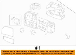 Ford Oem 17-18 F-350 Super Duty Front Door-mirror Assembly Right Hc3z17682aa