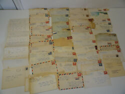 1960s Personal Military Letters Between Sailor And Girlfriend Wife Navy Vietnam