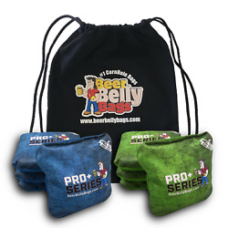 Beer Belly Bags Acl Approved Pro+ Series Competitive Cornhole Bags - Set Of 8