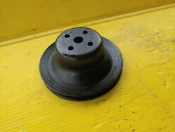 65-68 Ford 289 Hipo Mustang Fairlane Water Pump Pulley Oem Fast Free Shipping
