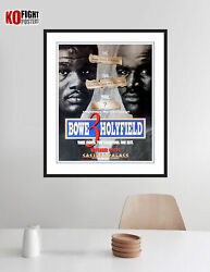 Evander Holyfield Vs. Riddick Bowe 3 Original Onsite Boxing Fight Poster