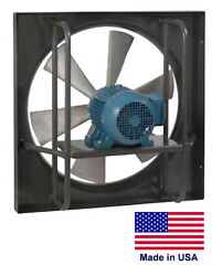 Exhaust Fan Commercial - Explosion Proof - 24 - 1/2 Hp - 115/230v - 6510 Cfm