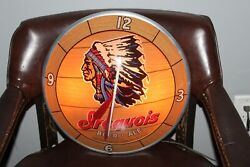 1960and039s Iroquois Beer Ale Brewery Advertisement Double Bubble Clock