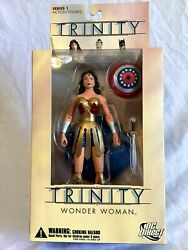 Dc Direct Trinity Wonder Woman Collector Action Figure New In Box