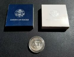 Silver Coin Lot 2 American Eagle Silver Dollar + .50 Nation Of Immigrants