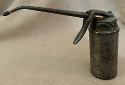 Vintage Plews Oil Can Oiler Pump Trigger Made In Usa
