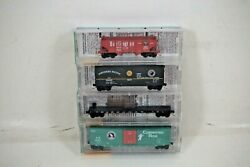 Nos Micro-trains Line Mtl Fallen Flags Spands, Gn, Np, Cbandq N Scale Set - 21212