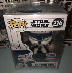 Lot Of Two 2 Captain Rex Funko Pops 2018 Fall Convention Exclusives Rare
