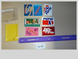 O Scale Assorted Stickers Decals And Billboard Sign 7 Model Train Layout 4698