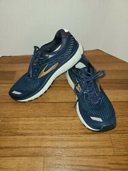 Brooks Ghost 12 Womenand039s Comfort Cushioned Athletic Sneakers Size 11 Mediumd