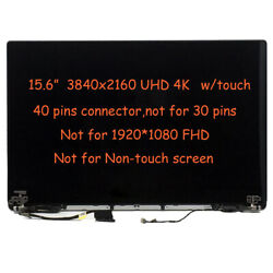 Hhtkr Uhd 4k Lcd Touch Screen Assembly For Dell Precision 5510 Xps 15 9550 9560