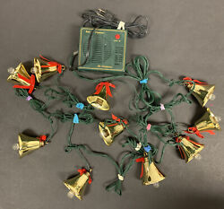 Mr. Christmas Bells Of Christmas 10 Lighted Musical Bells Plays 21 Songs Tested