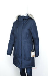 The Womenand039s Sz S-xl Downtown Parka Down Waterproof Jacket Navy - New