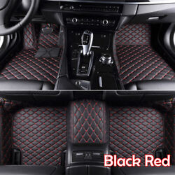 Car Floor Mats Fit Dodge Charger/ Challenger 2011-2019 Front And Rear Black Sale