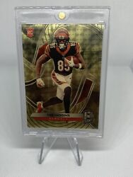 2020 Panini Spectra Football Gold Tee Higgins Rookie Card Bengals 1 Of 1 145