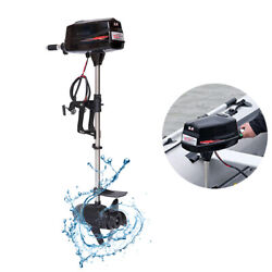 48v 8hp 2.2kw Electric Brushless Outboard Motor Inflatable Fish Boat Engine Used
