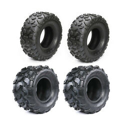 4 Pack Atv Go Cart Tires 145/70-6 145x70x6 And 18x9.5-8 18x9.5x8 Lawn Mower Tire