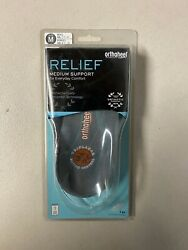 Vionic Relief 3/4 Length Orthotic Insoles Size M