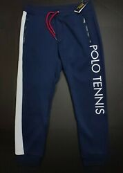 Polo Polo Tennis Double Knit Track Jogger Pants Sizes [xs And M]
