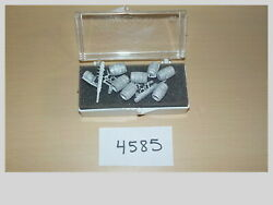 O Scale Pewter Metal Barrels And Weapons Artillery Model Train Layout 4585