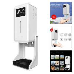 Countertop / Wall Mounted Thermometer No-contact Soap Dispenser Touchless