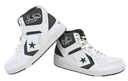 Celtics Larry Bird Signed White Converse Game Model Shoes Psa/dna And Bird Holo