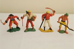 Rare Louis Marx Warriors Of The World Pirates Masterpiece Series - Hand Painted.