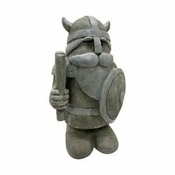 395871 Statuary Indoor/outdoor Viking Gnome Figurine Statue For Garden And