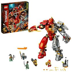 Lego Ninjago Fire Stone Mech 71720 Ninja Mech Building Toy For Kids 968 Pcs