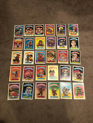 Lot Of 1986 Topps Garbage Pail Kids 5x7 Giant Series 1 Trading Cards