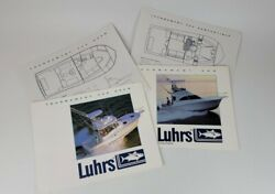 1990s Luhrs Sport Fishing Boats Tournament 320 Brochure - St. Augustine Florida
