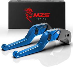 Mzs Wheel Levers Short Brake Clutch Roller Cnc Blue Compatible With Cmx 300 500