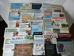 Vintage National Geographic Magazine Maps Lot Of 162 From The 1940s To 1990s