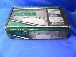 Rcbs Bench Top Primer Pocket Swager 09474 For Large And Small Primer Pockets