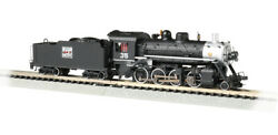 Bachmann 51351 N Scale Western Pacificandtrade 35 - 2-8-0 - Dcc Econami Sound Value
