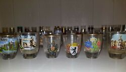 Life Long Shot Glass Collection From Europe, America, Australia, Cobo San Lucus