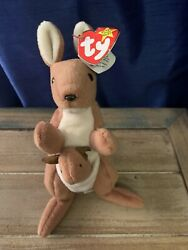 Pouch Ty Original Beanie Baby 1996 Hyphen Birthday And Http Pvc Pellets