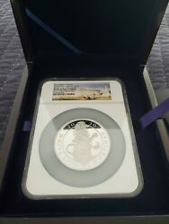 2020 10oz Silver The Queen's Beasts Ngc Pf69 Ultra Cameo Proof White Lion