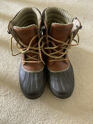 Sperry Duck Boots Mens Size 8.5m Thinsulate
