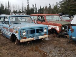 70-85 International Scouts V-8 Auto/stick Projects Or Parts Have 6 Scouts .