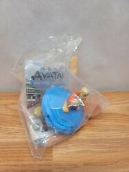 2006 Avatar The Last Airbender Burger King Toy With Water Whirl 7 Card