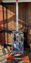 Liftpod Fs80 Light-weight Manlift Has Working Height Of 14and039 Max 330lbs