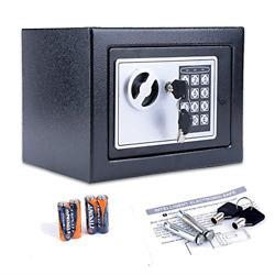 Fireproof Home Digital Security Safe Box Wall With Lock For Jewellery Money