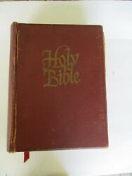 Vintage Holy Bible 1959 Jj Little And Ives Family King James Authorized Version