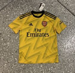 Arsenal Adidas Football Soccer Jersey Youth Large New With Tags