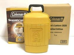 Coleman Seasons Lantern Case Only 2020 Limited Edition Mustard Color Outdoor